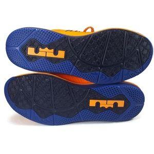 Nike Shoes - Nike Air Max LeBron X Low Knicks HWC 579765-800